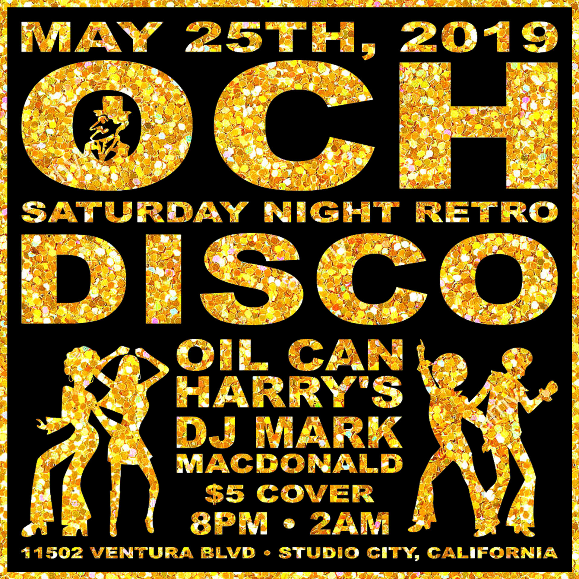 Oil Can Harry's Hosts DJ MARK MACDONALD from Las Vegas for RETRO DISCO: Saturday, May 25, 2019! 8:00 PM to 2:00 AM! $5.00 Cover.