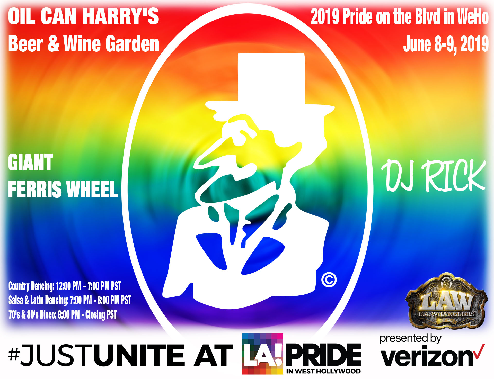 Oil Can Harry's at 2019 LA PRIDE!