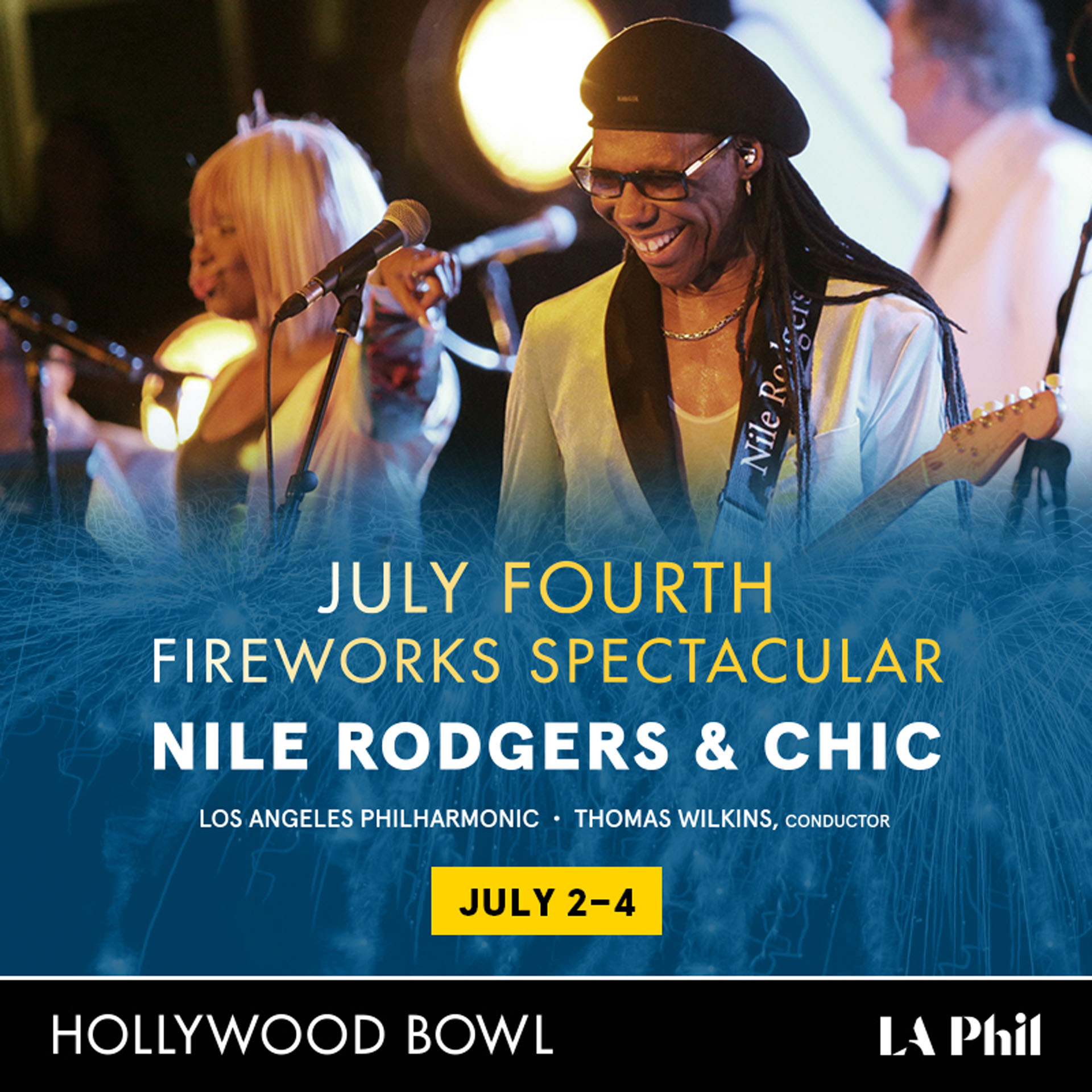 Nile Rodgers and CHIC team up with the LA Phil from Oil Can Harry's!